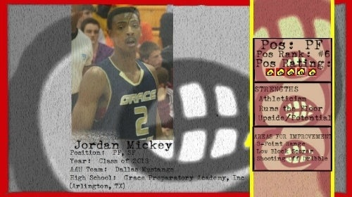#UofL expected to be 1 of 5 official visits for 13 PF Jordan Mickey. Jordan & father were very impressed on unofficial.