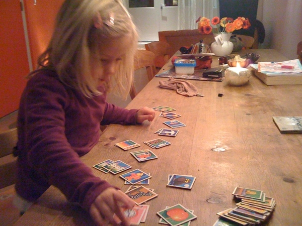 Terribly beaten by my 4yr old daughter w/ memory...