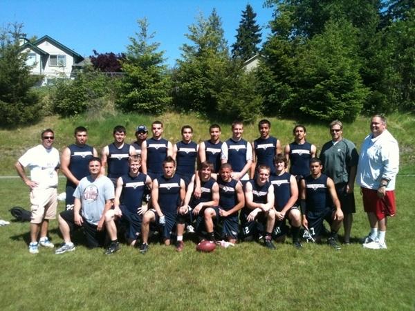 Ike Cadets dominate the Bonney Lake 7 v 7 tourney!