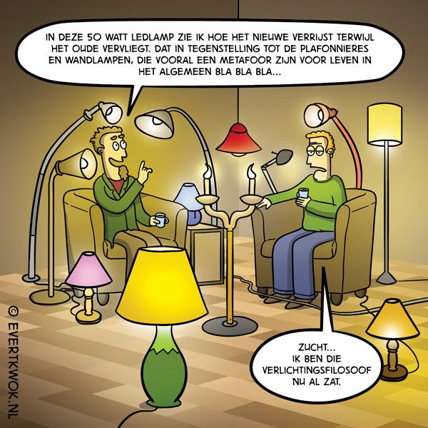 Verlichting #cartoon