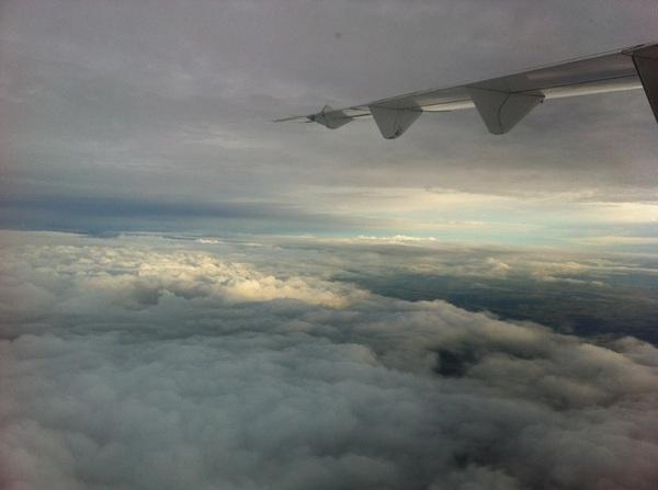 Sunrise over Sydney this morning