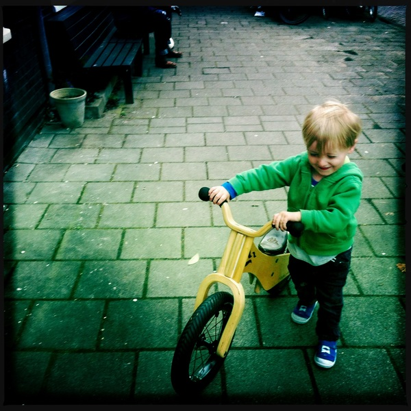 Fletcher of the day: new bike