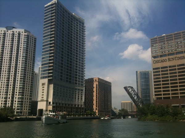 My gd camera borked; shipping 4 repair. Took Chicago architecture boat tour Friday with only iPhone camera.