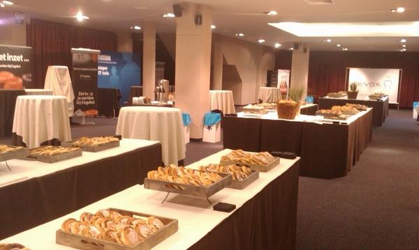 Breakfast and coffee at Devoxx 2009