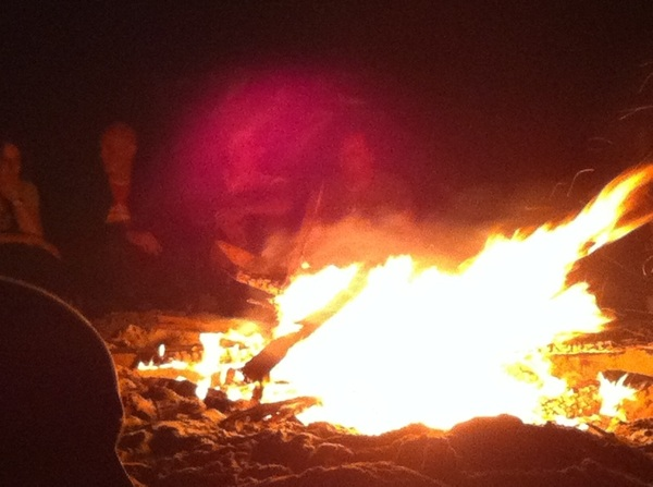 We zijn begonnen! Komderbij #kampvuur #gwo11
