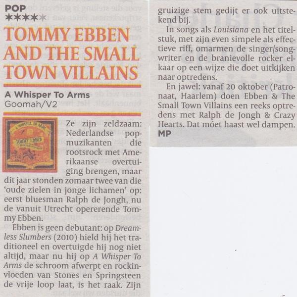 **** recensie in de Volkskrant!