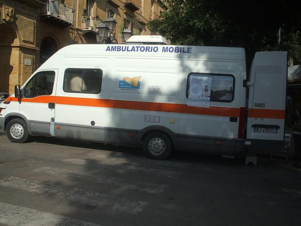 Un ambulatorio mobile per la Giornata mondiale del diabete @ Porta di ponte di Agrigento