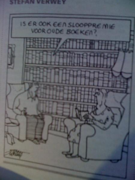 #verwey. Slooppremie voor boeken. :-)