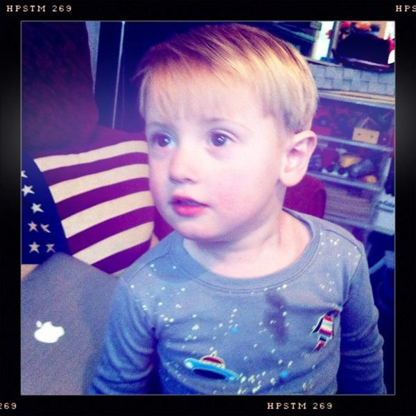 Fletcher of the day: little poser