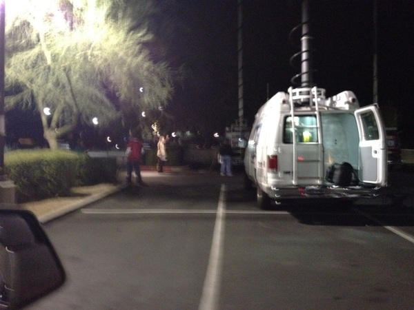 Road rage in North Scottsdale  tonight & news media all over CVS parking lot Pima Pinnacle Peak