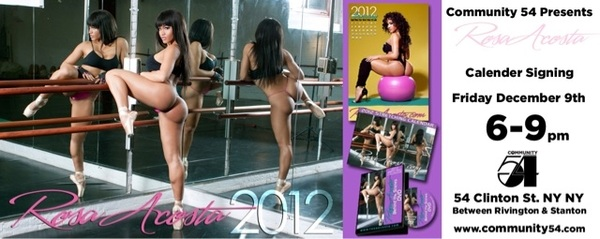 Nyc Friday 12.09.11 come get your 2012 stretching calendar at @community54