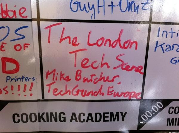 """Come to my #kinnernet talk 18.00 in Rachel Hall """"London Tech Scene"""""""