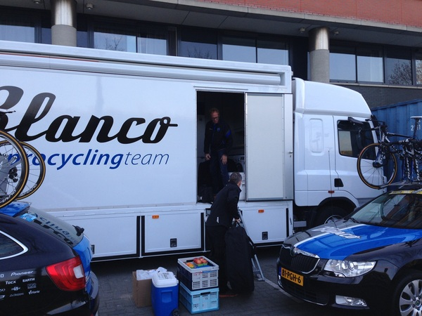 Final packing for #LBL by our soigneurs