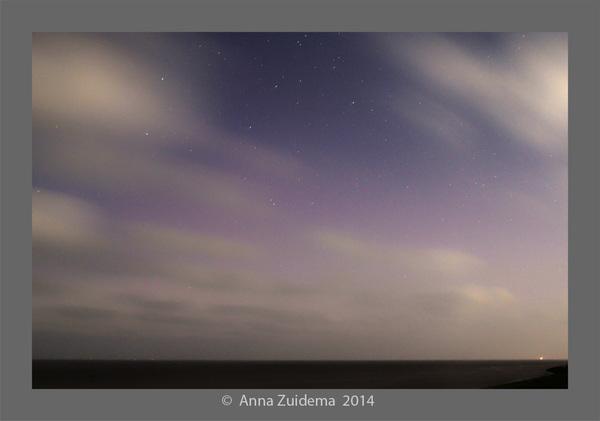 Poollicht vanaf Harlingen 13-09-14 00.00 #buienradar