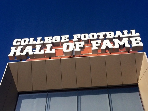 .@cfbhall The interactive #fanexperience at the College Football Hall of Fame opens now! #cfbhall