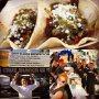 Gorgeous chorizo & steak tacos (handmade tortillas, salsa verde, güero chiles) at Taste of Randolph Fri-Sunday!