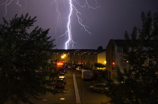 Lichtshow Arnhem #1 #buienradar