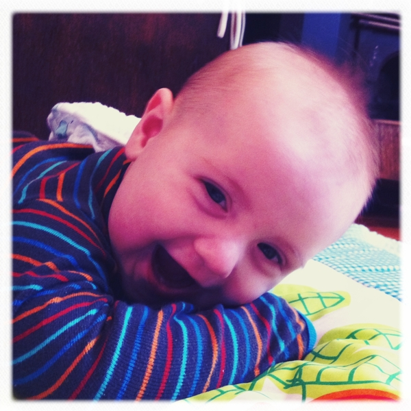 Fletcher if the day: giggly