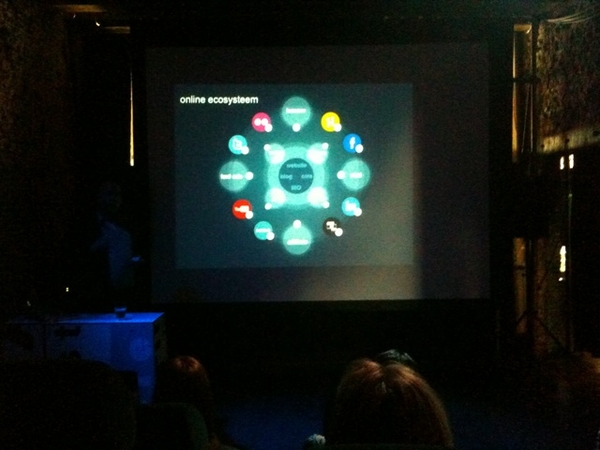 Mooie visual van het online ecosysteem volgens @oscarvanveen