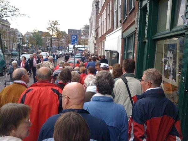 Lekker vroeg in de rrrij voor Haring en Wittebrood #3oktober #LeidensOntzet