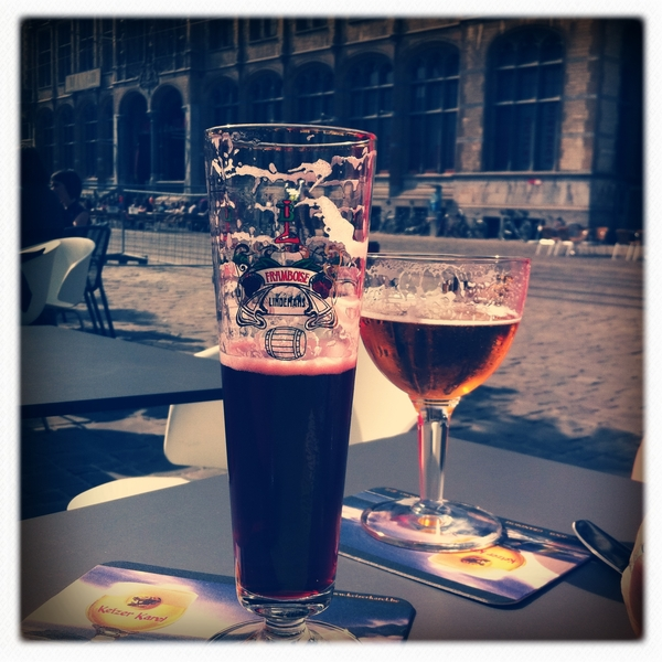 Lunchtime in Ghent