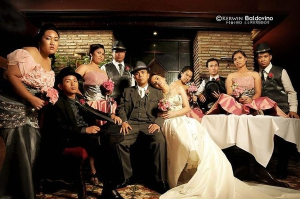 Posting something from Aj&Joan's Wedding by Kerwin where I got tagged. 
