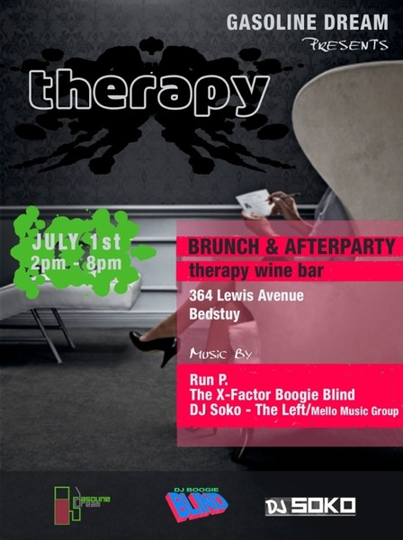 SUNDAY at Therapy we got Chicken & Waffle Specials!! That's in addition to @DJSoko & @BoogieBlind & myself spinnin