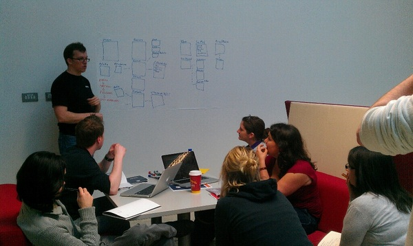 Team C working with @AshokaIreland on a big event next year are getting their structure in place