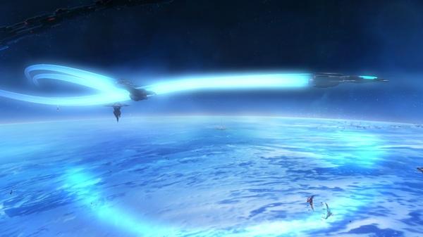 Auf gehts - erster Flug: Screen aus Strike Suit Zero