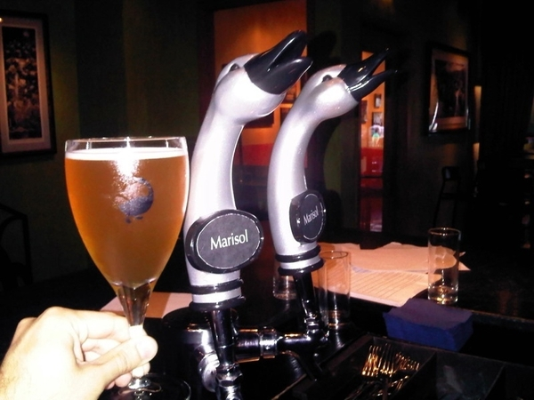 Our new beer--Marisol, made for us by Goose Island--debuts @ our tap in Frontera/Topolo tonight! Exclusive