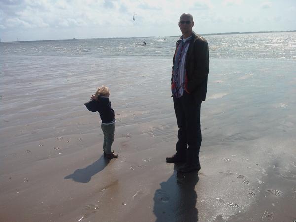 Lekker uitwaaien op het strand