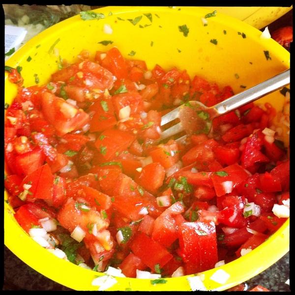 Mmmm...salsa..