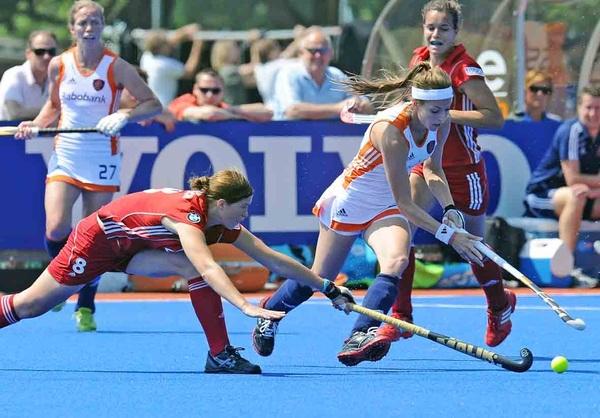 Ook de tweede oefenwedstrijd in de hitte tegen België werd gewonnen. #rabohockey #ziningoud