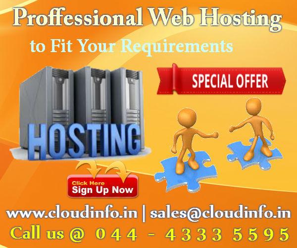 Web Hosting Company Chennai