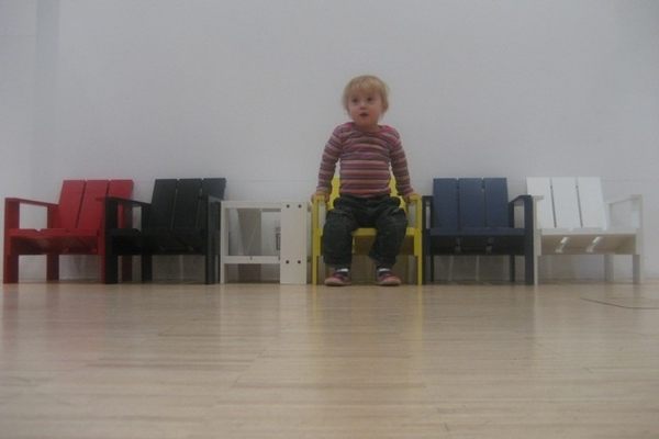 Little Annemijn loves Rietveld
