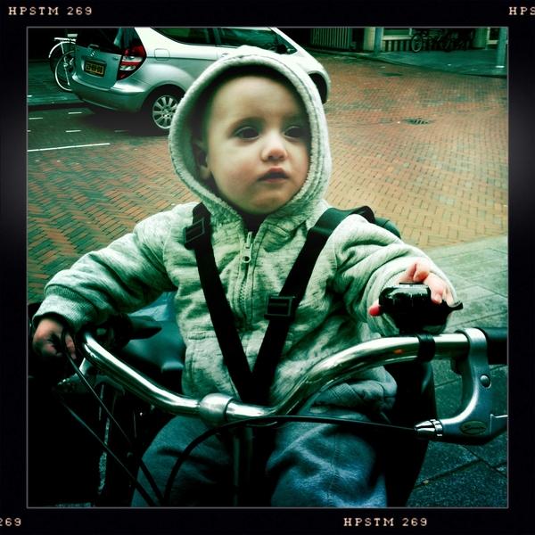Fletcher of the day: bike seat