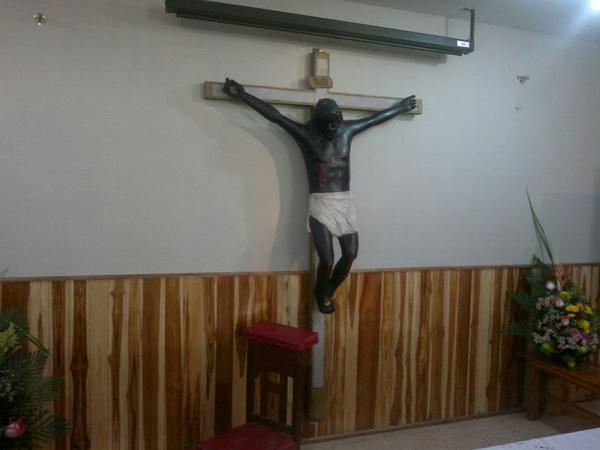 El cristo negro de Daule...