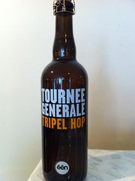 Hier nog een van onze laatste aanwinsten! Tournee Generale tripel hop. Van het gelijknamige tv programma.