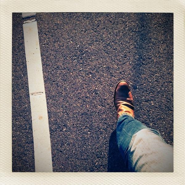 Altijd naast het lijntje lopen