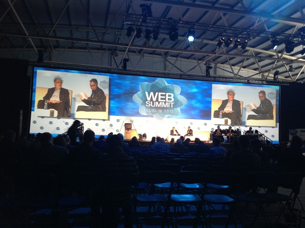 "funny @mikebutcher w Yossi Vardi MB ""have an advice f AOL?"" YV ""my advice 2 AOL is not 2 listen 2 my advice"" #websummit"