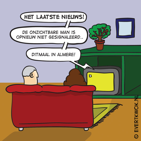 BREKEND NIEUWS. #cartoon