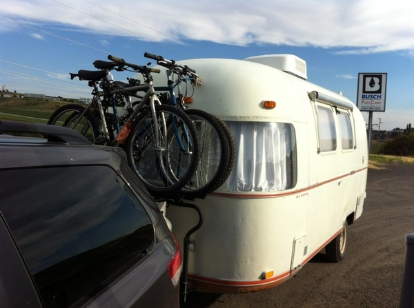 Camping with bikes - we'll see.