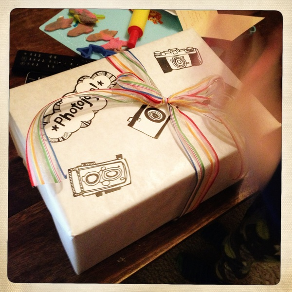 Yay! Birthday prezzie from @photojojo arrived today! No Dino, though :(