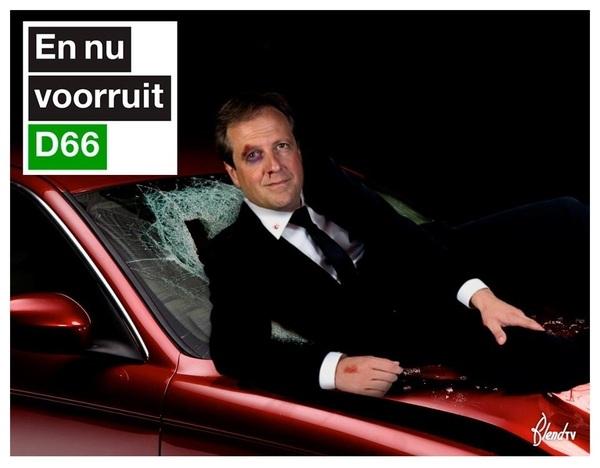 En nu voorruit #D66