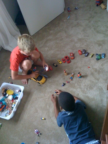 P and N playing
