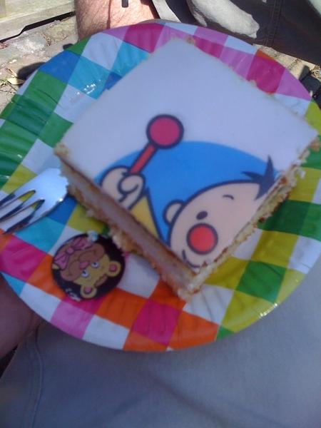 Hoera! Bumba taart!