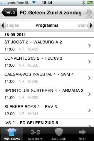 Hopelijk kan #UtViefde het tij keren tegen IVS 2 volgend weekend! Het programma:
