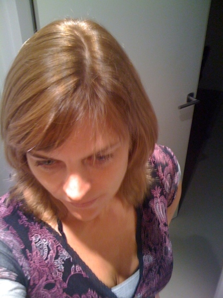 Quite happy w/ my 'new hair'