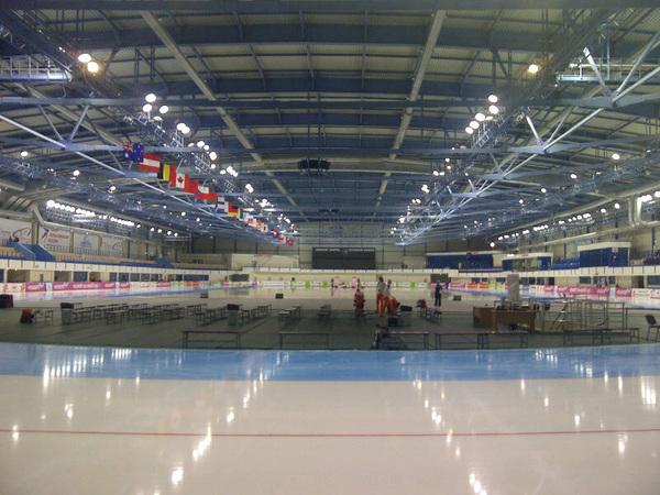 Mooie ijsbaan hier in chelyabinsk!