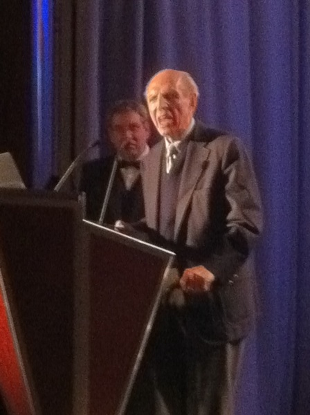 An honor to be part of Murrow Awards lifetime presentation to the great Richard C. Hottelet of CBS News
